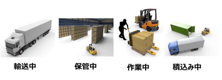 新栄運送では様々な場面に対応出来るよう保険に加入しております。